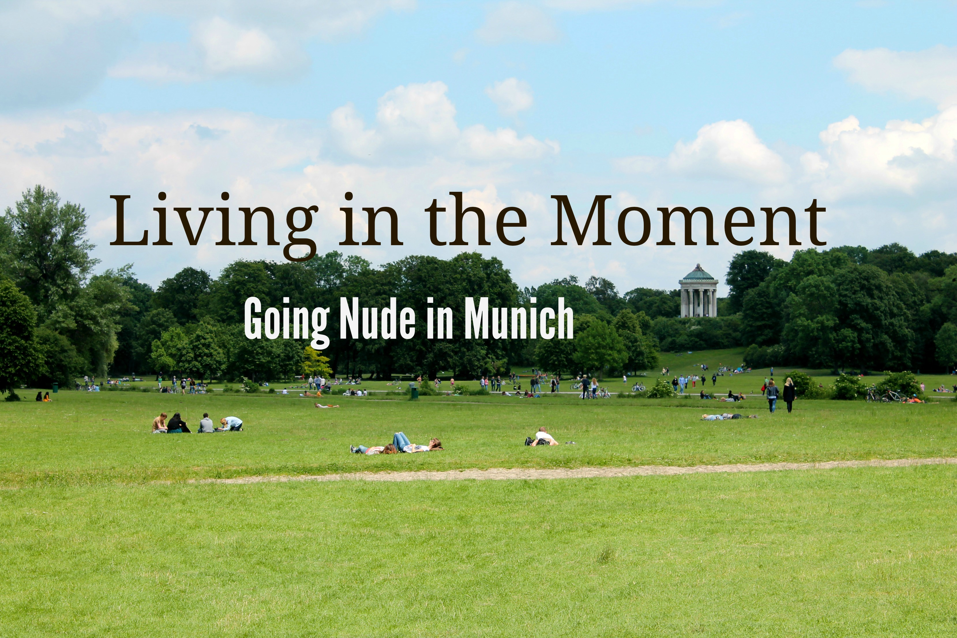 Amusing nude park munich germany